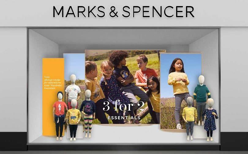 Marks & Spencer Christmas sales slump, clothing hit by store closures