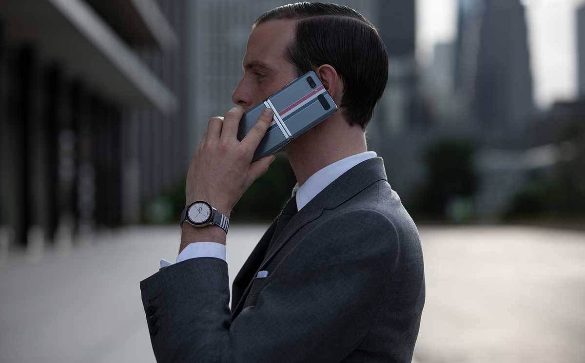 Samsung debuts Thom Browne collaboration at NYFW