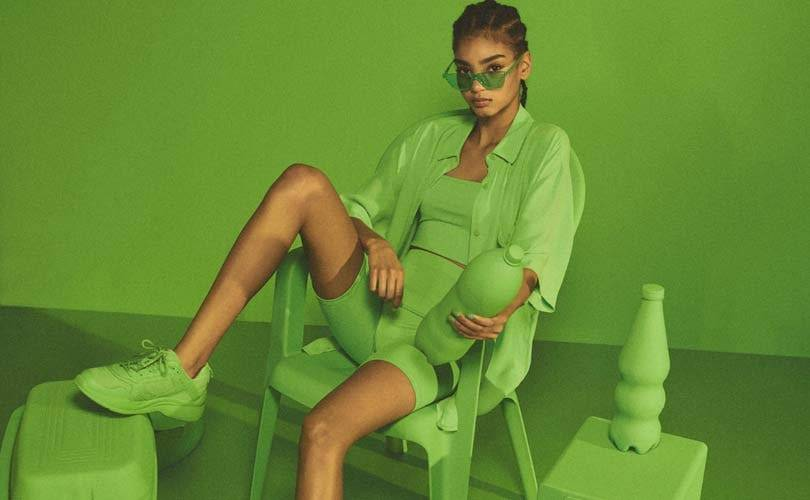 In pictures: Bershka teams up with Pantone for monochromatic capsule collection