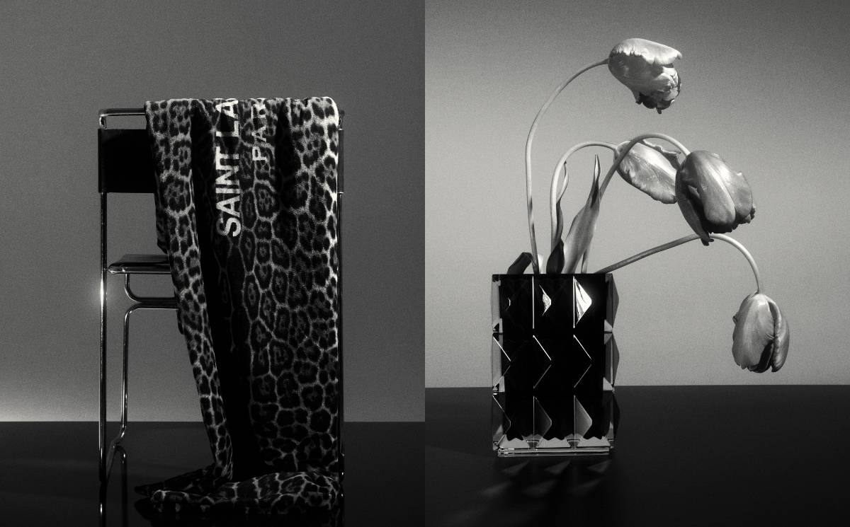 In Pictures: Saint Laurent launches homeware in the UK