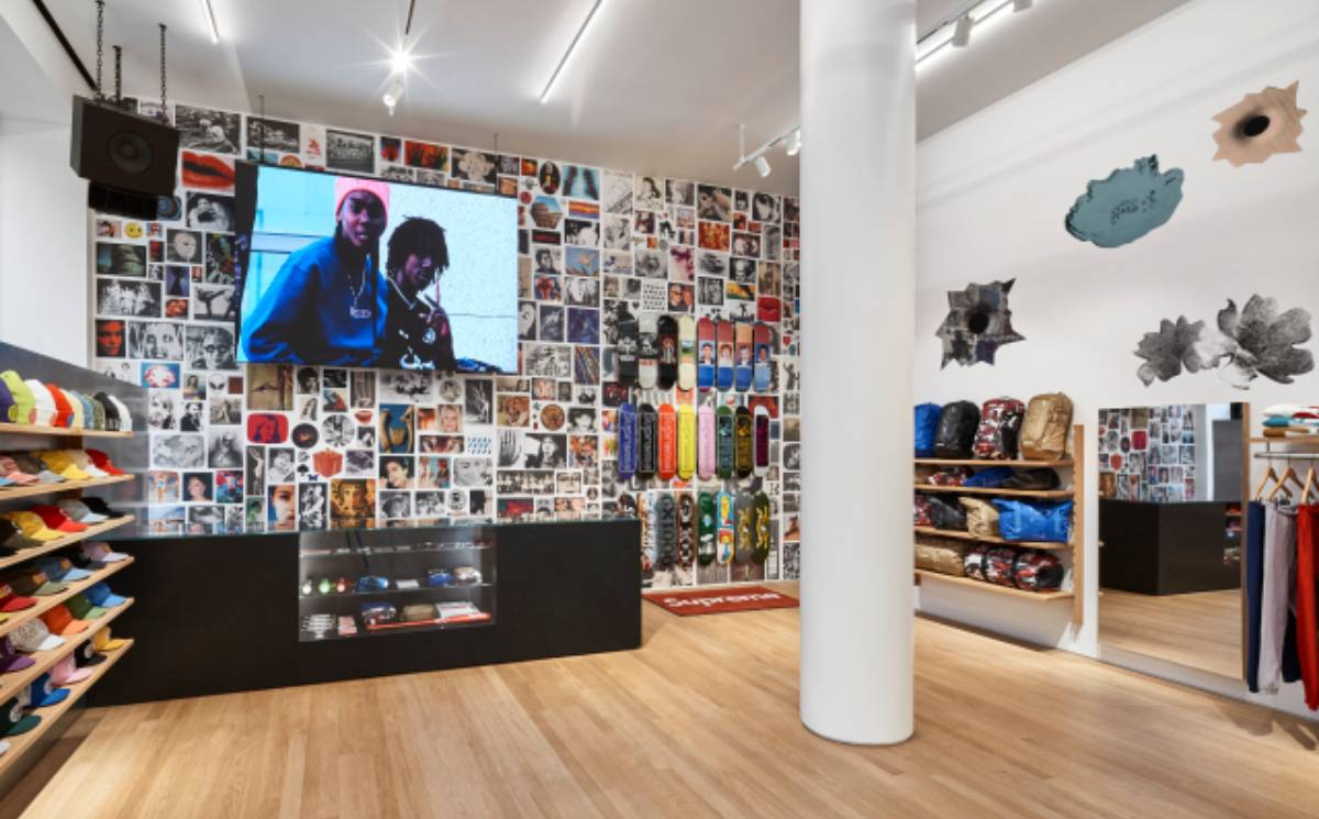 Supreme opens first store in Milan