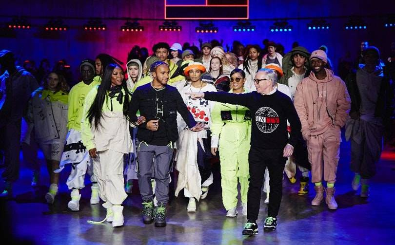 Tommy Hilfiger gives boost to LFW with casting tour de force