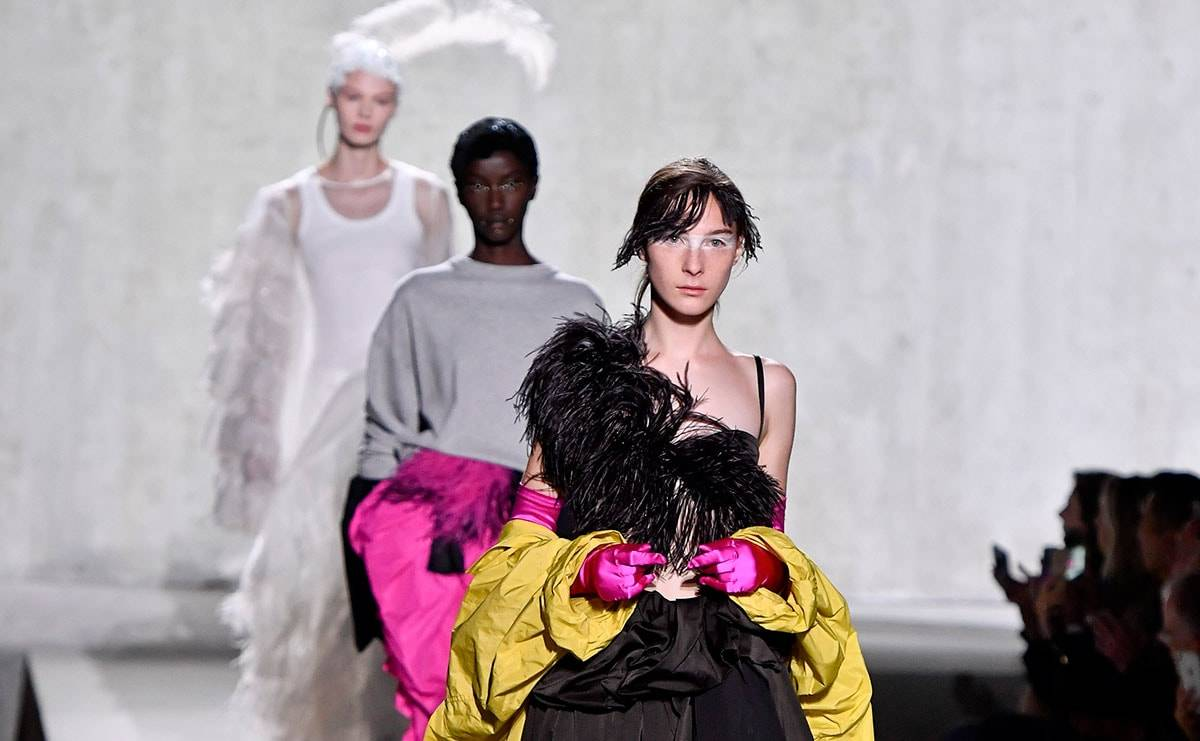 18th century influence in PFW SS20 Shows