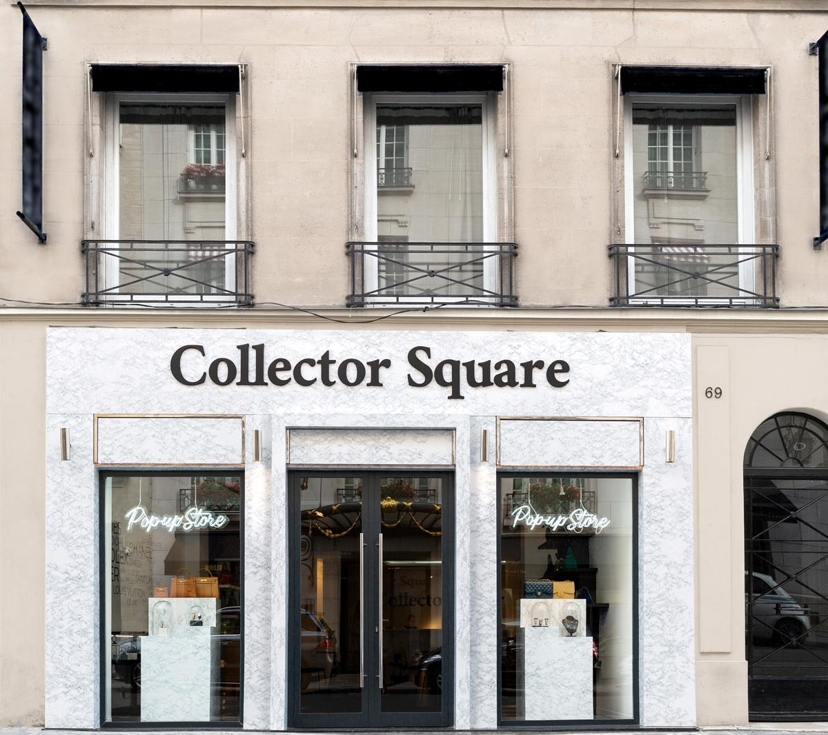 Le nouveau pop-up store de Collector Square