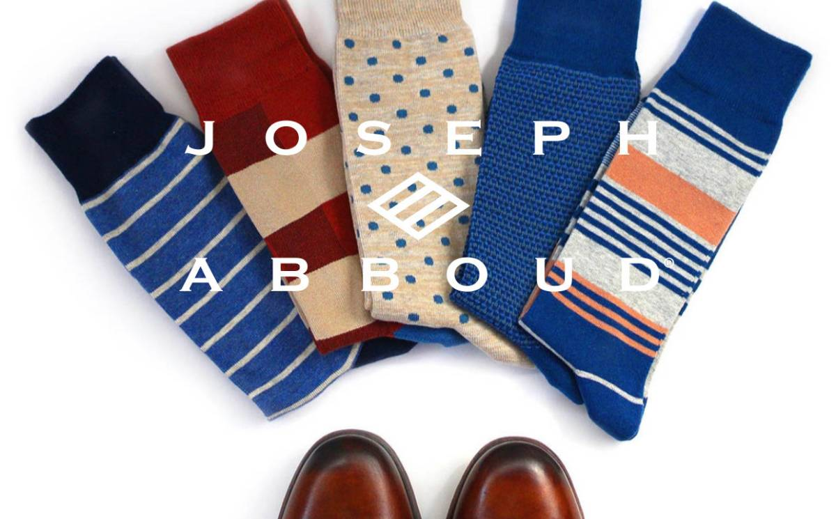 WHP adds sock collection for Joseph Abboud