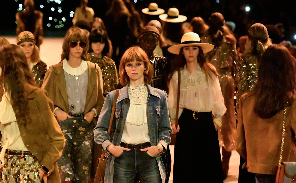 In Paris, denim on the catwalk leaves little to want for