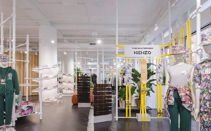 Kenzo unveils first boutique designed by Felipe Oliveira Baptista