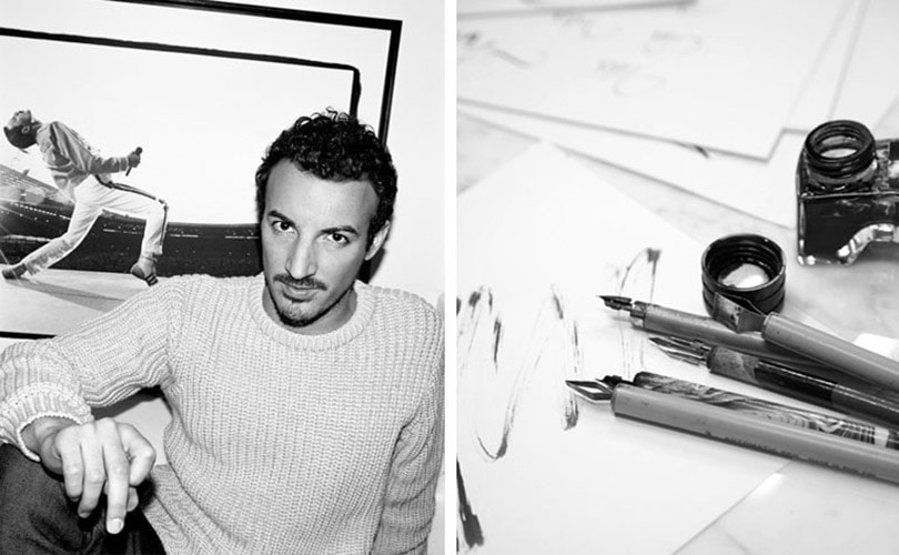 Fashion's favorite calligrapher kept busy during PFW