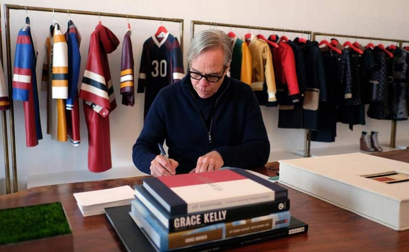 Hilfiger's fashion empire celebrates the 'best of America'