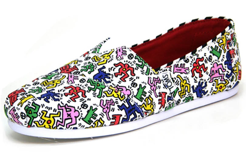 40f3c665a04 Keith Haring s famous designs to be featured on Tom s shoes