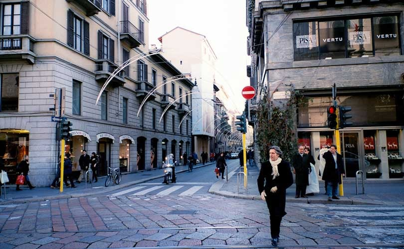 An end to fashion elitism? Not in Milan