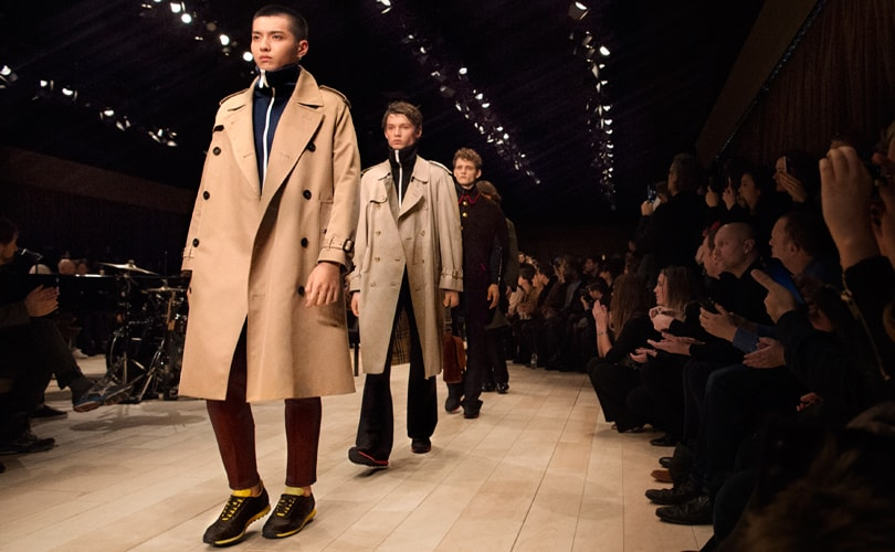 f90c15924c09 Burberry shakes up Fashion Week by merging shows to two annual events