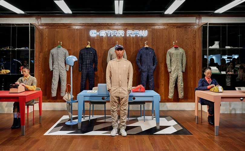 530bba3446b7 Pharrell Williams launches G-Star Raw s Suit collection