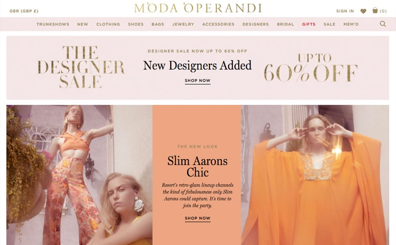 Moda Operandi secures 165 million dollars in growth capital
