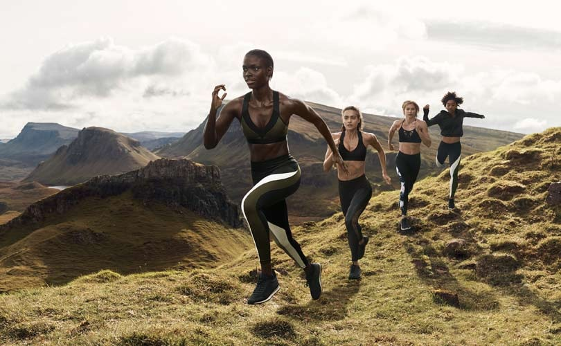 In Pictures: H&M launches sustainable activewear collection