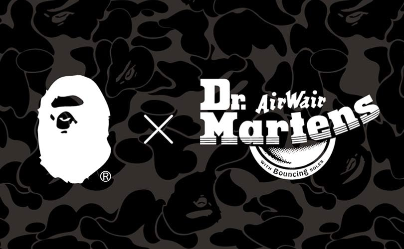 21a1f97ec Dr. Martens x A Bathing Ape to launch end of January