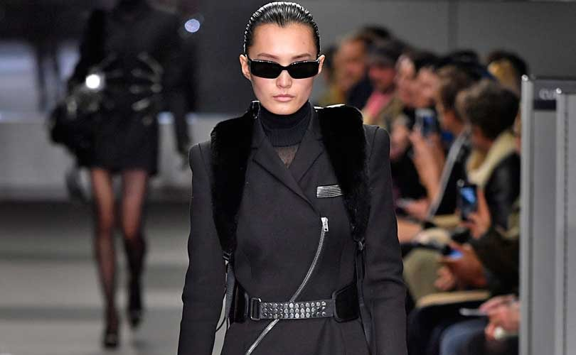 Wang in the office, Plein in outer space at New York Fashion Week