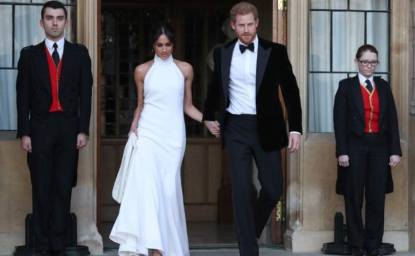 Meghan Markle champions female designers for wedding