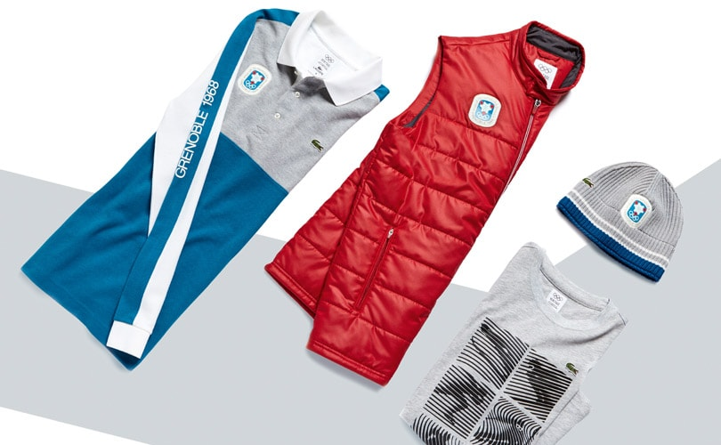 221f45eaa2 Lacoste celebrates Olympic heritage with new apparel line