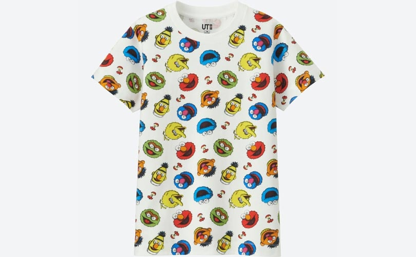 Uniqlo to launch Sesame Street collection in partnership with Kaws