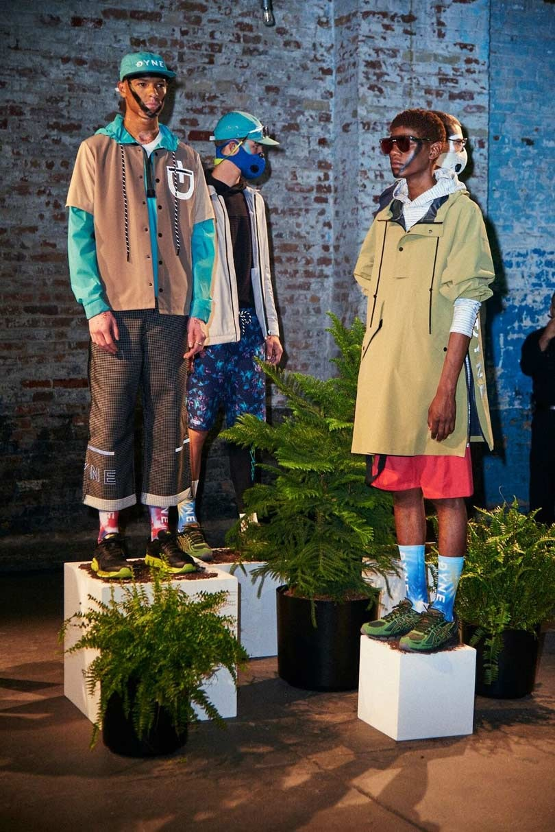 Dyne fuses fashion, performance and technology at NYFW: Men's