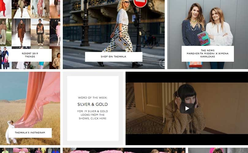 Tagwalk, the fashion industry's first search engine