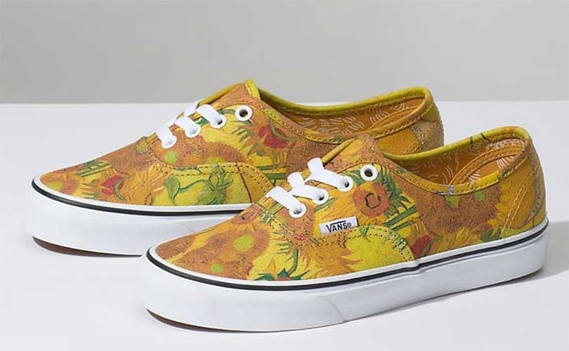171548a5d4cf Van Gogh s paintings come to life in new Vans collection