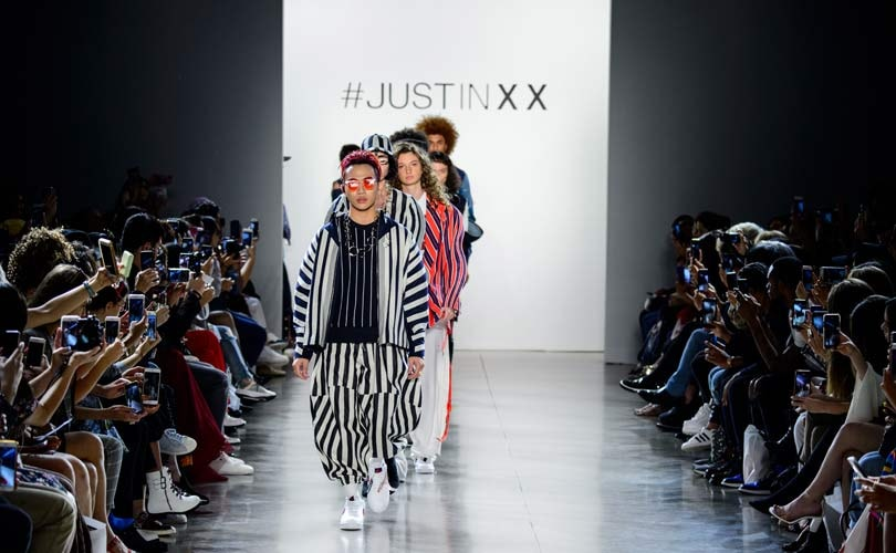 High-end streetwear dominates Just In XX NYFW show