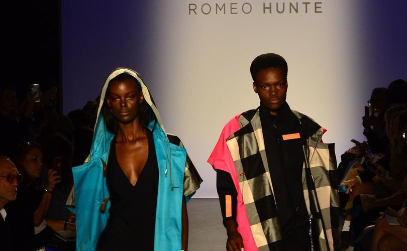 Romeo Hunte looks to his menswear line for womenswear inspiration