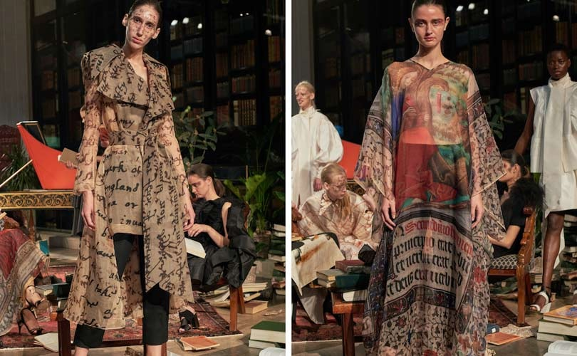 LFW's newest rising star - Nabil Nayal