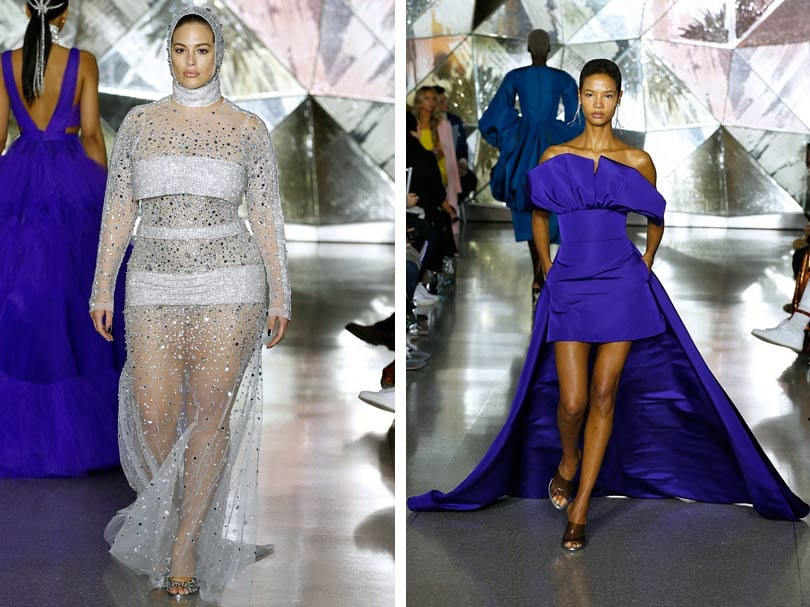 At New York Fashion Week, next autumn looks sexy and colorful