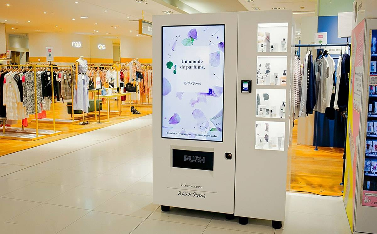 & Other Stories debuts vending machine to sell cosmetics
