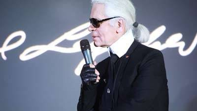 Un Master Class Karl Lagerfeld à Sciences Po