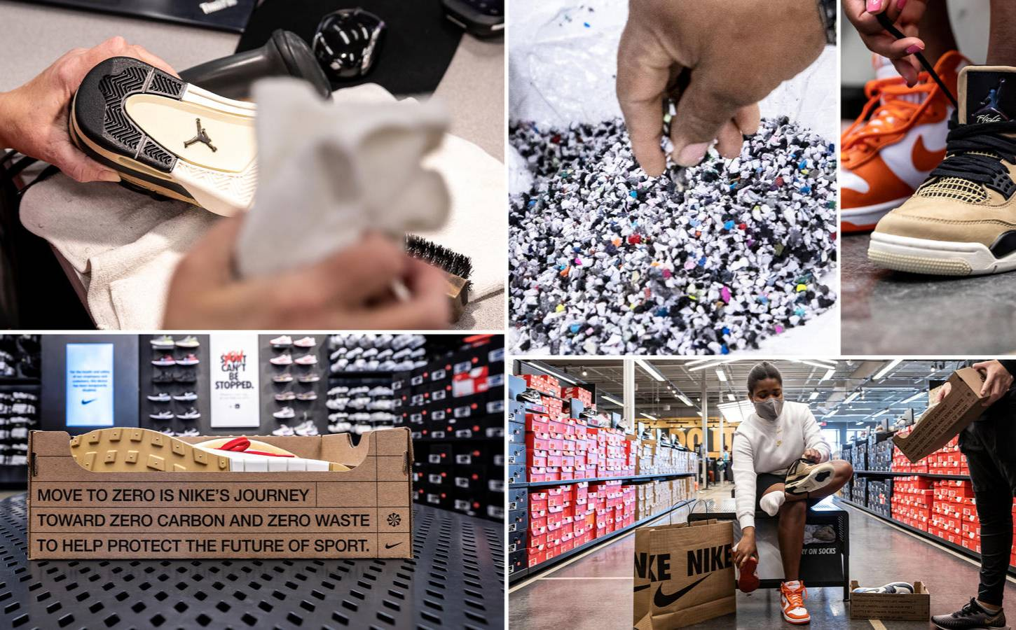 Nike launches refurbished program to recycle sneakers