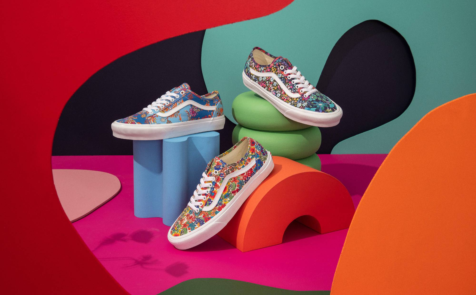 Vans launches collection made with Liberty of London fabrics