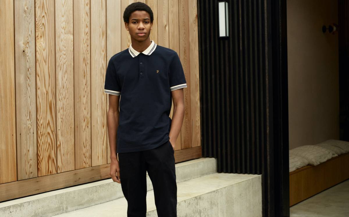 Farah introduces 100 percent organic cotton into core lines