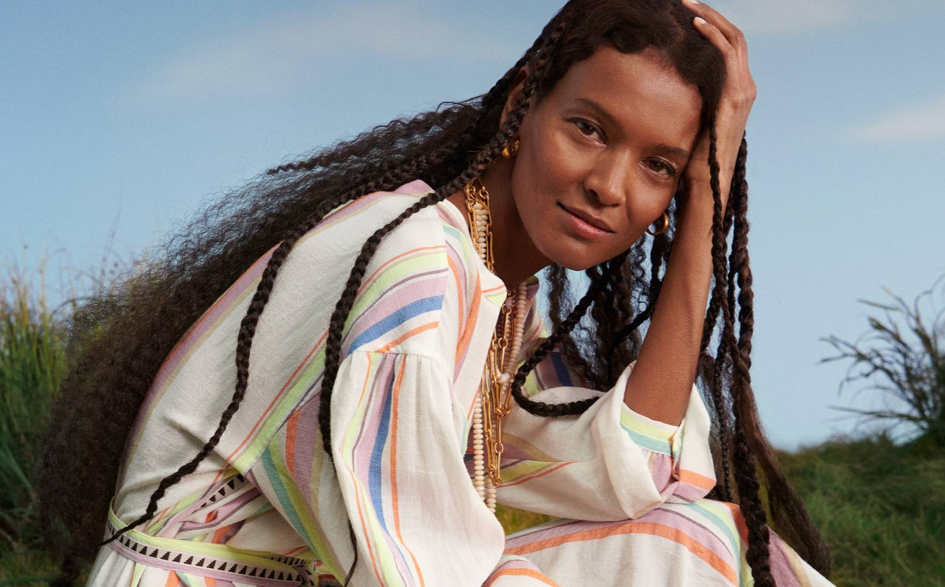 H&M collaborates with Liya Kebede's lemlem